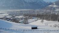Durch die einzigartige Hanglage haben sie eine unverbaute Aussicht auf die Stadt Lienz und die Lienzer Dolomiten.